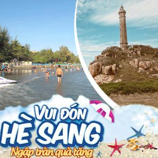 Tour du lịch hè Phan Thiết - Mũi Né 2N1Đ: Đồi Cát bay - Tháp Chàm Posanu...