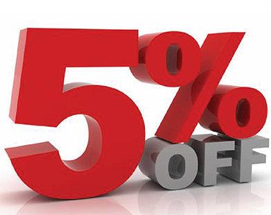 Gift - Card giảm giá 5% tháng 9 đến tháng 12