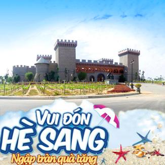 Tour du lịch Phan Thiết - Mũi Né 2N1Đ: Lâu đài rươu vang - Hòn Rơm