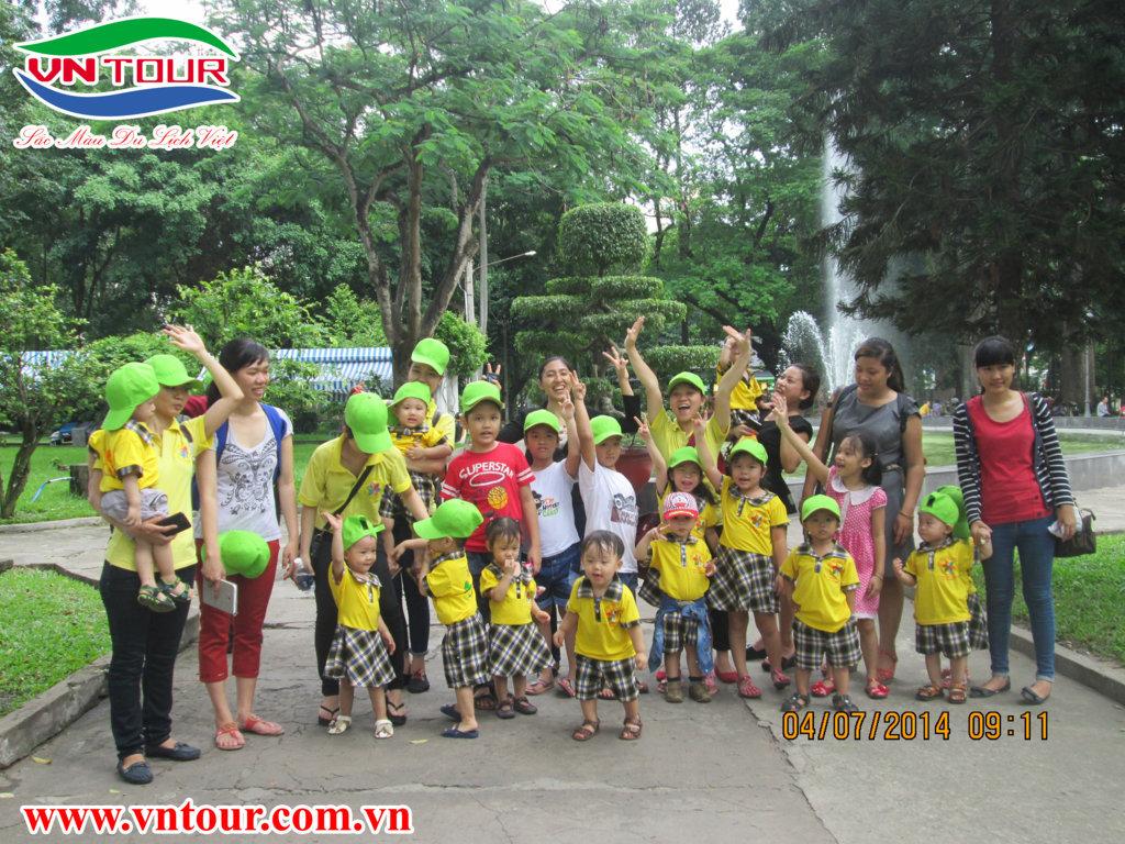 Tour du dịch Thảo Cầm Viên cùng trường mầm non Chong Chóng Xinh