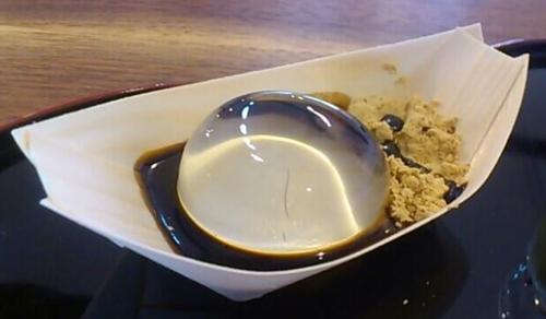 Món bánh nước kỳ lạ tại Nhật Bản