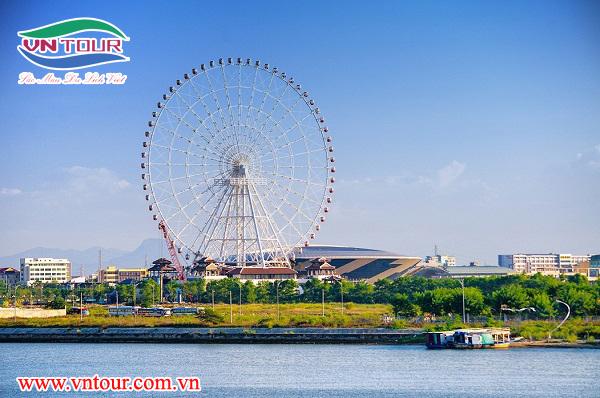 Vòng quay Sun Wheel Đà Nẵng trong top 5 vòng quay lớn nhất thế giới