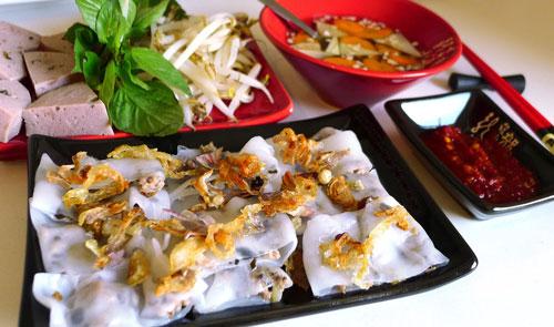Bốn món bánh cuốn nổi tiếng Miền Bắc