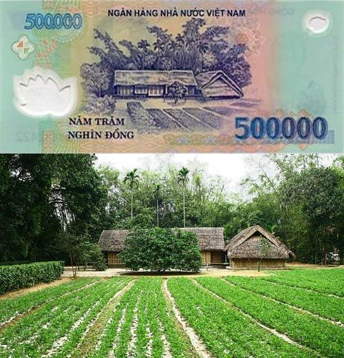 Tiền Việt Nam với những điểm du lịch nổi tiếng