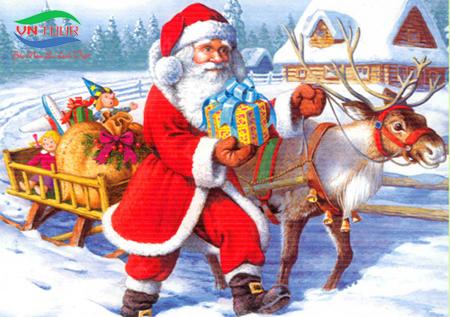 Dịch vụ chuyển quà sự kiện Giáng Sinh 2016 - Ông Già Noel VNTOUR