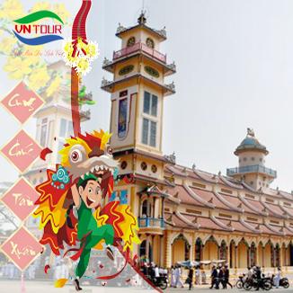 Tour du lịch tết Núi Bà – Tòa Thánh Tây Ninh 1 ngày