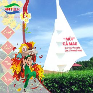 Tour du lịch Cà Mau - Cần Thơ Tết Nguyên Đán 2017 3 ngày 3 đêm