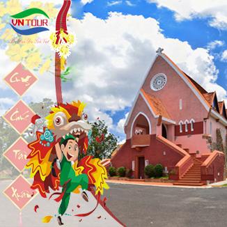 Tour du lịch Đà Lạt Tết Âm Lịch 2017 4 ngày 3 đêm (Thung Lũng Tình Yêu)