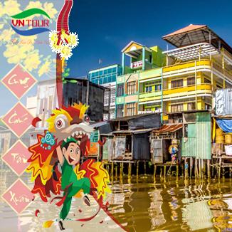 Tour du lịch Cần Thơ 2N1Đ: Tết Nguyên Đán 2018