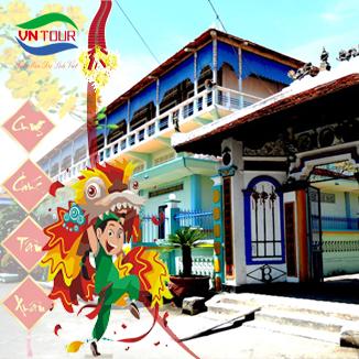 Tour du lịch Vũng Tàu 2N1Đ: Nhà Lớn Long Sơn...