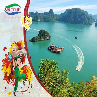 Tour du lịch tết Hà Nội - Hạ Long 3 ngày 2 đêm (Tam Cốc- Bái Đính)