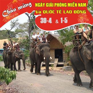 Tour du lịch Buôn Ma Thuột 30/4 – 1/5 4 ngày 3 đêm