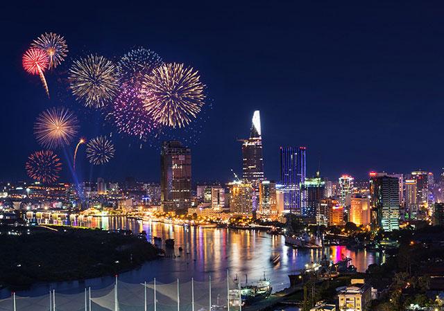 Những cái độc - lạ trong chương trình pháo hoa mừng năm mới Tp. Hồ Chí Minh