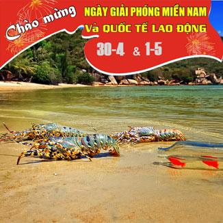 Tour du lịch Nha Trang - Đảo Bình Ba Lễ  30/4 – 1/5  3 ngày 3 đêm