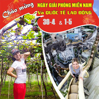Tour du lịch Ninh Chữ - Đà Lạt 4 ngày 4 đêm lễ 30/4 - 1/5