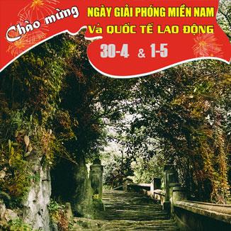Tour du lịch Đà Nẵng 4 ngày 3 đêm lễ - 30/4 - 1/5 (Ngũ Hành Sơn - Hội An)