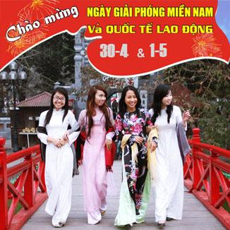 Tour du lịch Hà Nội 4 ngày 3 đêm lễ 30/4 - 1/5