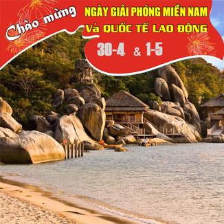 Tour du lịch Nha Trang Lễ 30/4 và 1/5 năm 2017 4 ngày 3 đêm