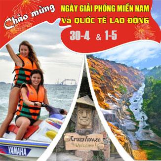 Tour du lịch Phan Thiết - Nha Trang - Đà Lạt lễ 30/4 6 ngày 5 đêm