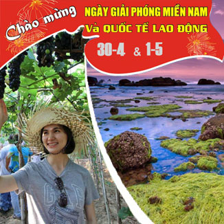 Tour du lịch Ninh Chữ 3 ngày 3 đêm Lễ 30/4 – 1/5