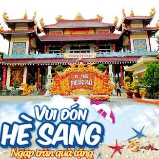 Tour du lịch hè Vũng Tàu 1 ngày: Phước Hải - Minh Đạm