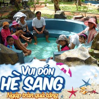 Tour du lich hè Vũng Tàu 3N3Đ: Bình Châu - Hồ Cốc...