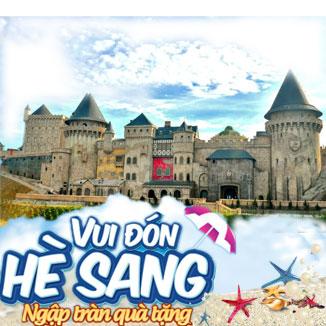 Tour du lịch hè Đà Nẵng 3N2Đ: Bà Nà - Bán đảo Sơn Trà...
