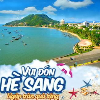 Tour du lịch hè Vũng Tàu - Long Hải 2N1Đ: Dinh Cô - thưởng thức hải sản...