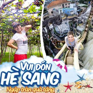 Tour du lịch hè Ninh Chữ - Đà Lạt 4N3Đ: Vĩnh Hy - đồi Mộng Mơ...