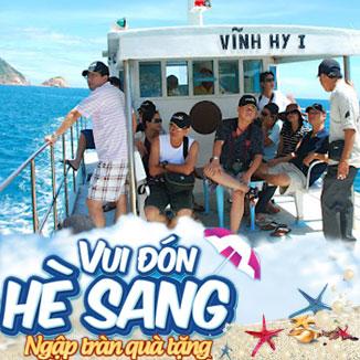 Tour du lịch Ninh Chữ - Đảo Bình Hưng 3 ngày 3 đêm