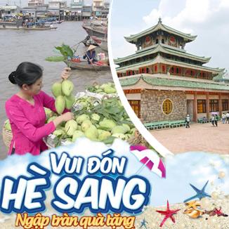 Tour du lịch hè miền Tây 4N3Đ: Châu Đốc - Kiên Giang - Cần Thơ