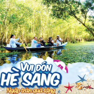Tour du lịch hè Miền Tây 5 ngày 4 đêm (An Giang - Cà Mau - Cần Thơ - Vĩnh Long)