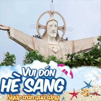Tour du lịch hè Vũng Tàu 2N1Đ: Suối nước Bình Châu...
