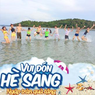 Tour du lịch miền Tây hè 2N1Đ: đảo Bà Lụa - Rừng tràm Trà Sư...