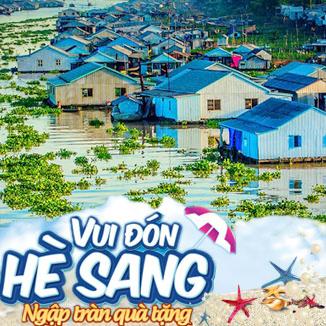 Tour du lịch hè miền Tây 2N1Đ: Châu Đốc - Rừng chàm Trà Sư...