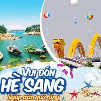 Tour du lịch hè Đà Nẵng 4 ngày 3 đêm (Cù Lao Chàm)