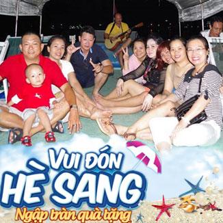Tour du lịch hè Phú Quốc 3N2Đ: Hàm Ninh - Suối Tranh...