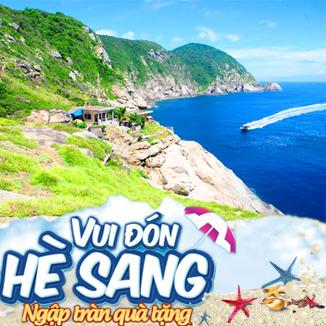 Tour du lịch hè Đà Nẵng 3N2Đ: Cù Lao Chàm - Bà Nà...Tiệc Hải Sản