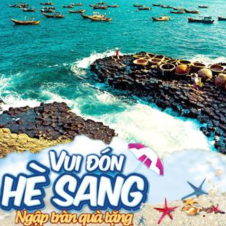Tour du lịch Hè Phú Yên - Gành Đá Đĩa 4 ngày 3 đêm