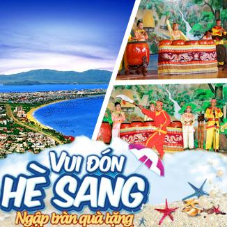 Tour du lịch hè  Miền Trung - Sài Gòn - Quy Nhơn 3 ngày 3 đêm