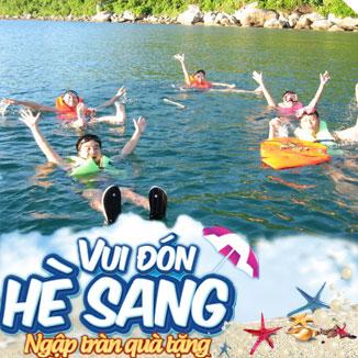 Tour du lịch hè Bình Ba - Nha Trang 3N3Đ: Tôm Hùm - VINPEARL LAND...