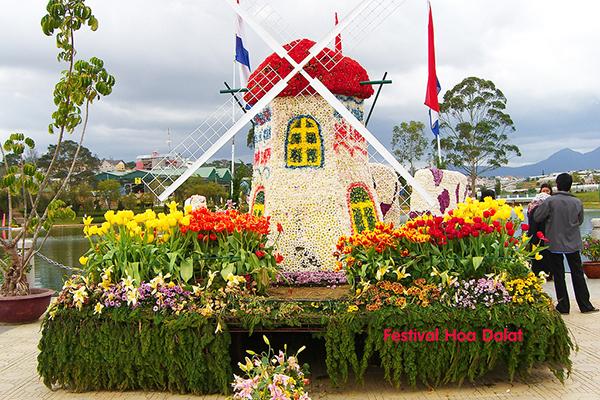 Lễ hội FESTIVAL hoa Đà Lạt năm 2016