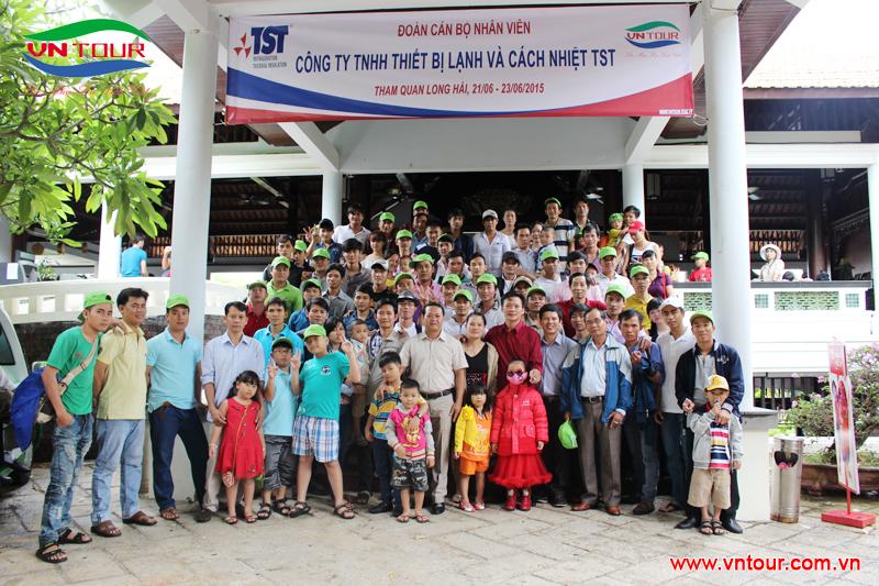 Công ty TNHH thiết bị lạnh và cách nhiệt TST tham quan Long Hải, tháng 6/2015