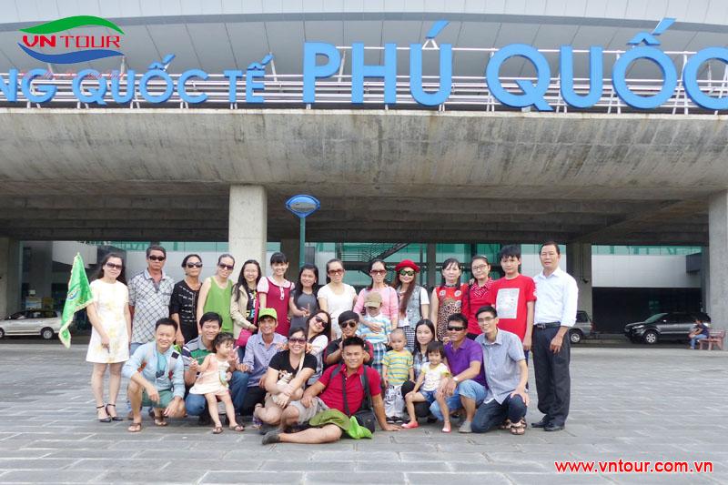 Công ty Hoàng Ngân Anh tham quan Phú Quốc, tháng 6 2015