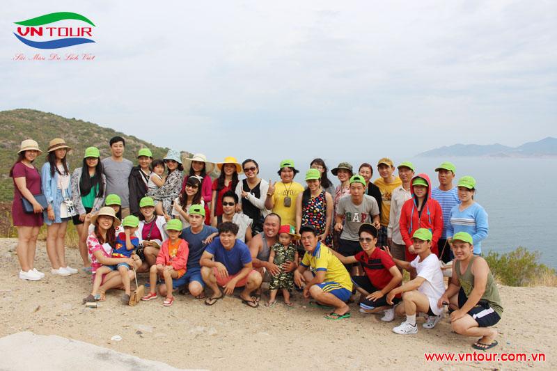 Công ty TNHH Quốc Tế Trà Giang tham quan đảo Bình Ba, tháng 6 2015