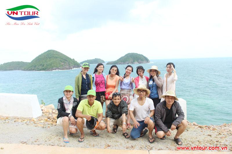 Công ty phần mềm 3S Tham Quan đảo Nam Du, tháng 7 2015