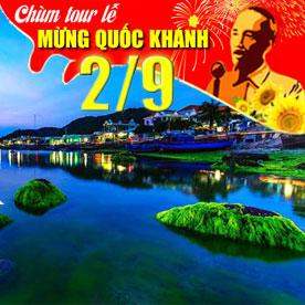 Tour du lịch Ninh Chữ - Đảo Bình Hưng Lễ Quốc Khánh 3 ngày 2 đêm
