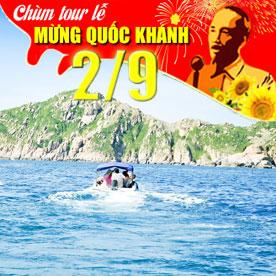 Tour du lịch Ninh Chữ Lễ Quốc Khánh 3 ngày 2 đêm (vịnh Vĩnh Hy)