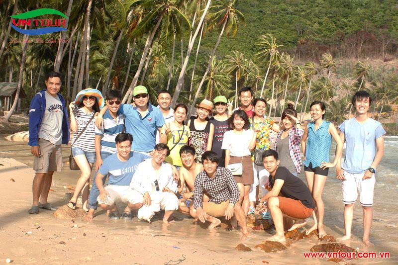 Đoàn dự án Uc - Messaging - DNTN Dv Tường Minh du lịch đảo Nam Du, tháng 7/2015
