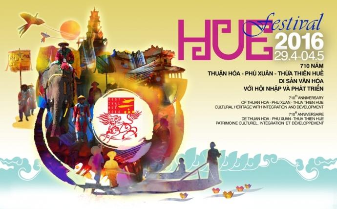 Thời gian diễn ra Festival Huế 2016